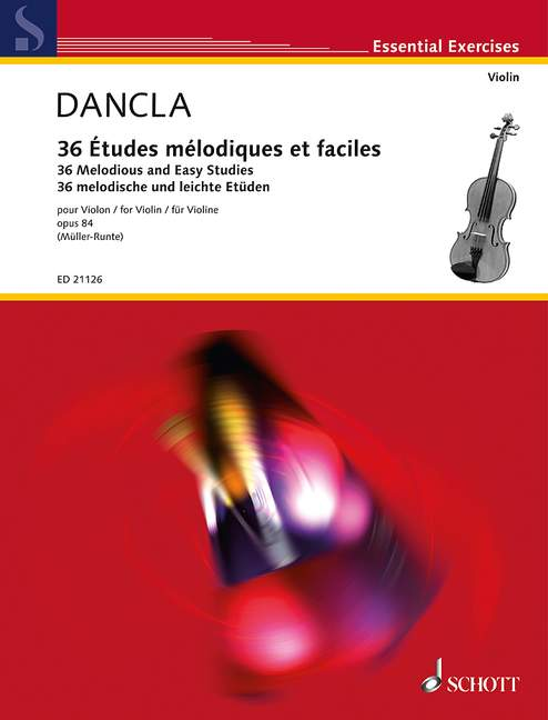 36 Melodious and easy studies op.36 image